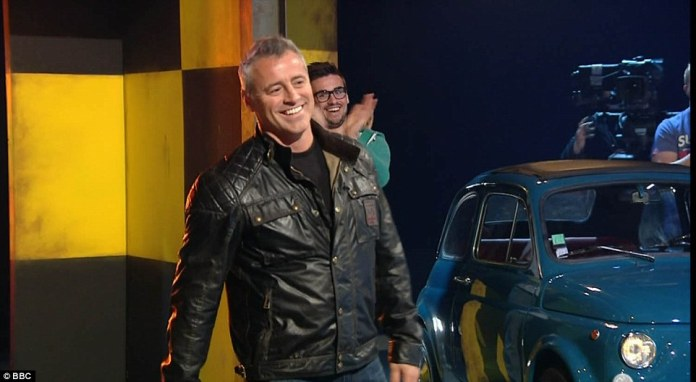 Matt LeBlanc made his Top Gear debut on the episode and was the first American to present on the show in its 39-year history