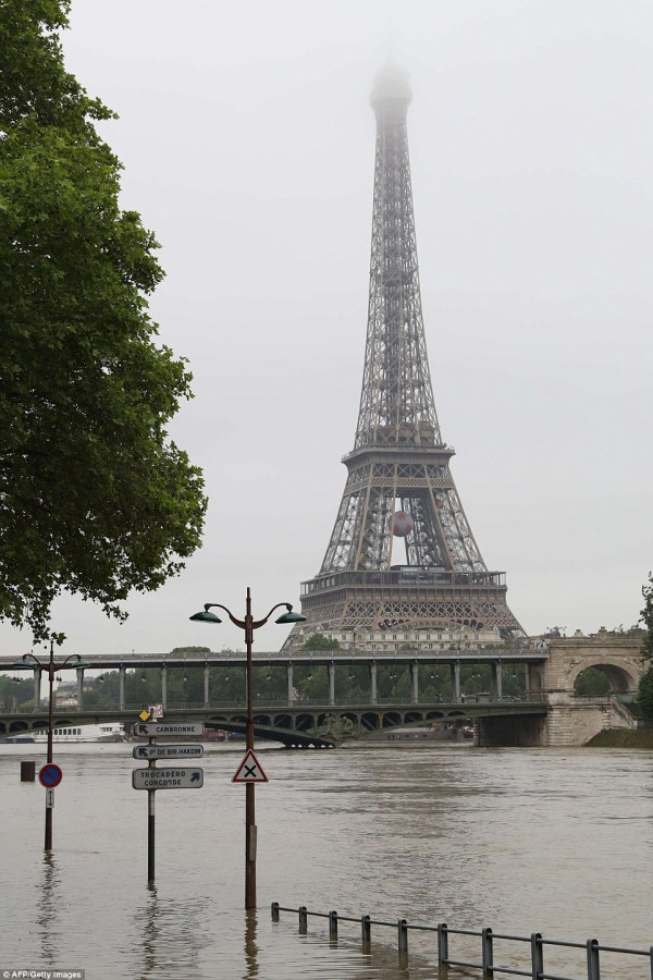 Flooding In Germany And France Continues Paris Closes