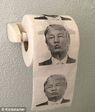 Image result for trump toilet paper pictures
