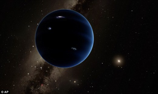 In January, Caltech astronomers Professor Konstantin Batygin and Professor Mike Brown predicted the existence of what they, somewhat controversially, termed 'Planet Nine'. Since the prediction, researchers over the world have been using different instruments to hone in on the planet. Artist's impression pictured