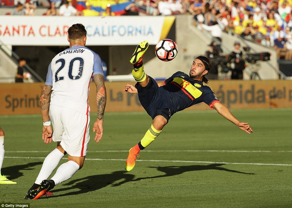 Colombia were the more efficient of the two teams as they took their chances when they came to seal victory at theLevi's Stadium