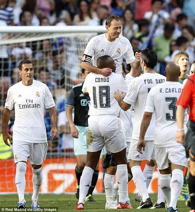 Real Madrid Vs Chelsea Legends Score