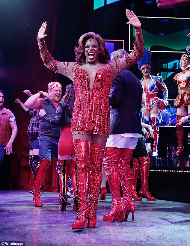 Kinky Boots cast including performs song in support of transgender bathroom rights  Daily Mail