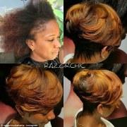 atlanta hairstylist shares videos