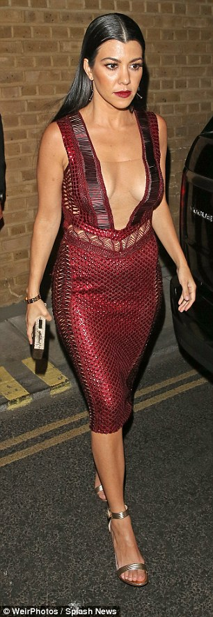 Wow thing: She showed off her incredibly ample assets as she went braless to leave the star-studded event, making her way back to her London hotel after a fun evening spent at the Berkeley Square bash