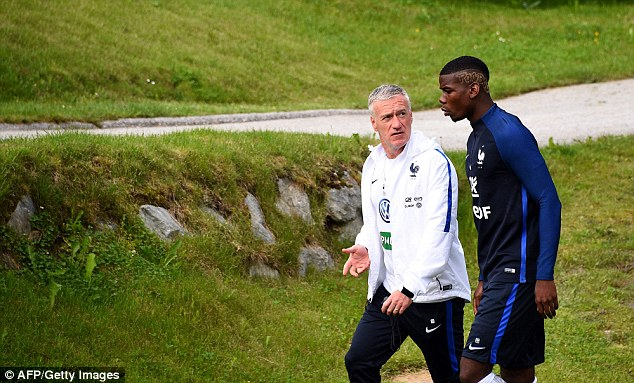 Image result for Deschamps not worried over Pogba form