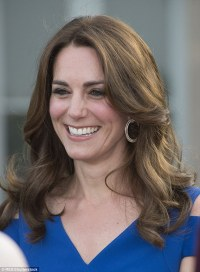 Kate Middleton wears Cartier diamond earrings at SportsAid ...