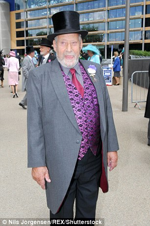 Clement Freud, pictured here at Royal Ascot in 2006 as been accused of grooming a nine-year-old girl