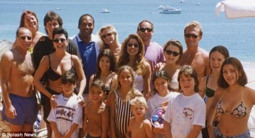 Image result for oj faye resnick kardashian vacation photo