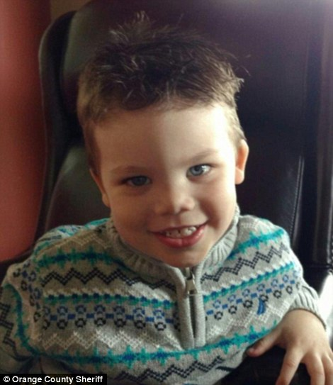 The body of two-year-old Lane Graves (pictured) was recovered after he was snatched by an alligator at the Walt Disney World resort in Orlando on Tuesday night