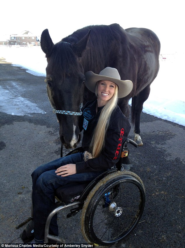 horse saddle seat chair purple chairs for bedroom utah cowgirl left paralyzed after being thrown from her truck gets back to compete in rodeos ...