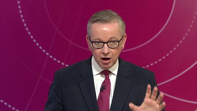 Dejar la campaña de Michael Gove dice que regularmente se encuentra tener que procesar edictos, normas y reglamentos que han sido enmarcadas en el ámbito europeo - leyes nadie en Gran Bretaña ha solicitado