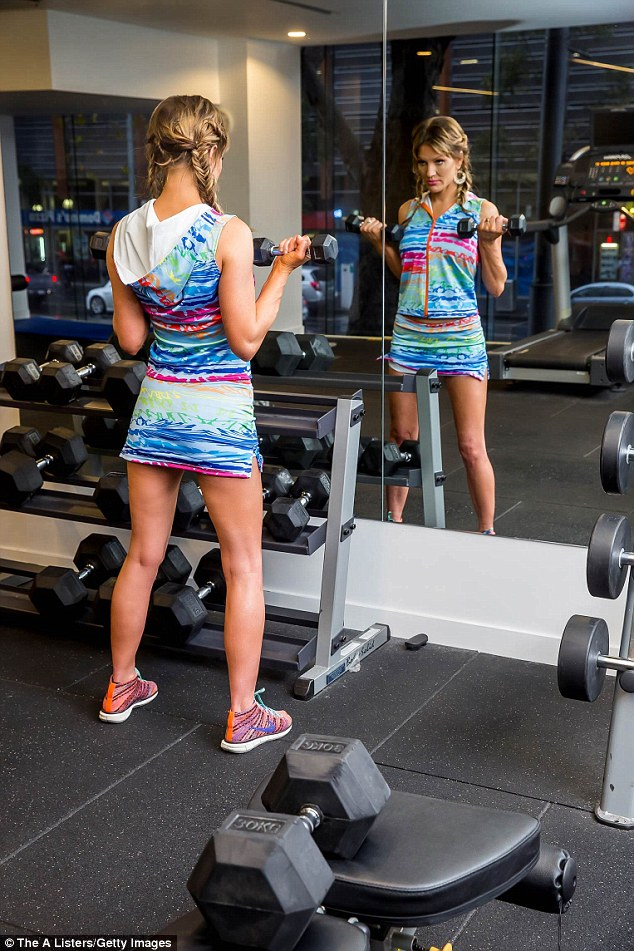 Brynne Edelsten Gives A Glimpse Into Her Workout Regime In