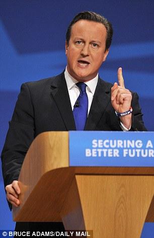 Aprovechando la alta moral: David Cameron