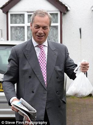 Nigel Farage dijo que estaba teniendo 'salchichas para el desayuno inglés'