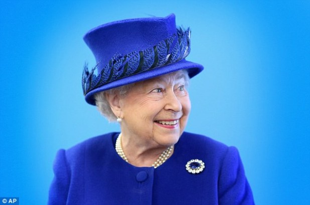 Royal approval: In a final goodwill gesture, the newspaper then promised to attend the Queen's 100th birthday