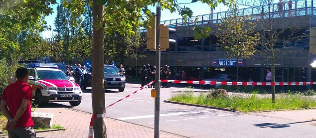 A gunman has opened fire at the Kinopolis cinema complex in the town of Viernheim