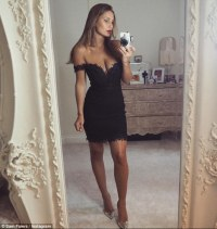 TOWIE's Sam Faiers oozes sex appeal in tiny lace LBD ...
