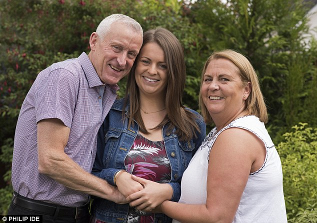 Reid's parents Debbie and Billy are thrilled to have her back home with them in Lenzie, Glasgow, after three years as a prisoner in Peru - after she attempted to smuggle drugs