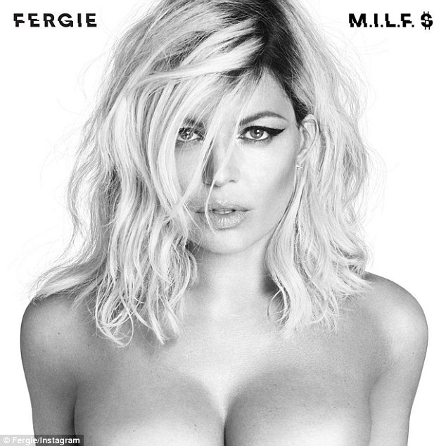 'This just leaked....aaahhhh!!!': On Saturday, Fergie appeared topless in a shot posted on her Instagram page
