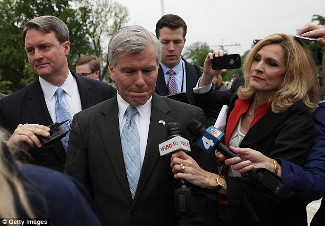 The Supreme Court tossed out the conviction of former Virginia governor Robert McDonnell Monday