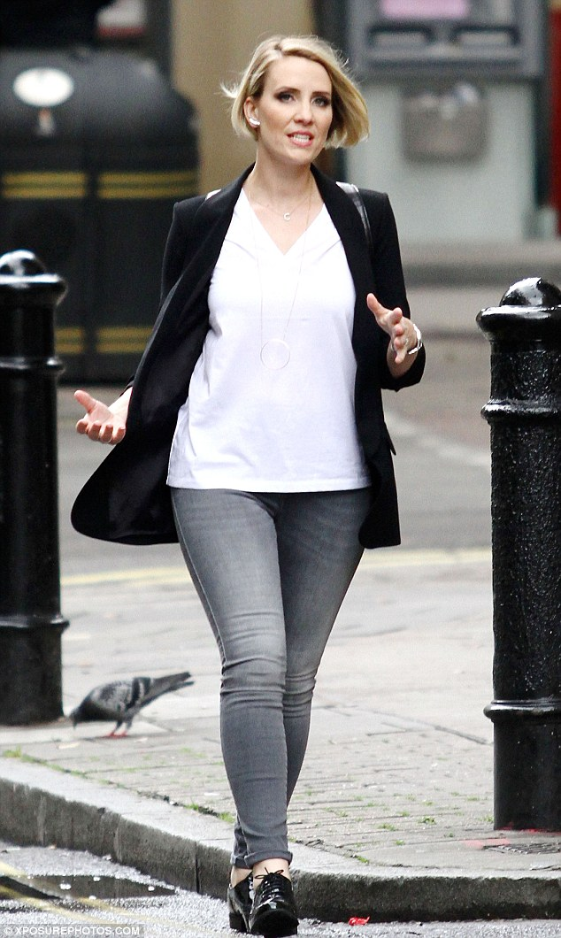 Claire Richards Continues To Flaunt Her Trim Figure In