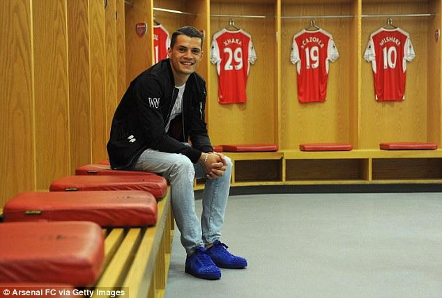 Arsenal boss Arsene Wenger has already tied up Granit Xhaka from Borussia Monchengladbach for £35m