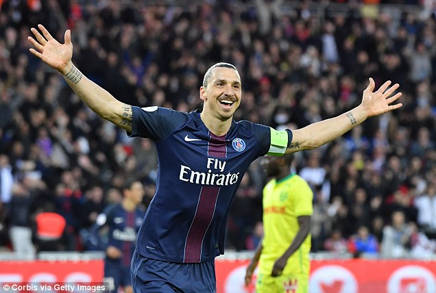 Veteran striker Ibrahimovic is set to complete his free transfer to Manchester United this week