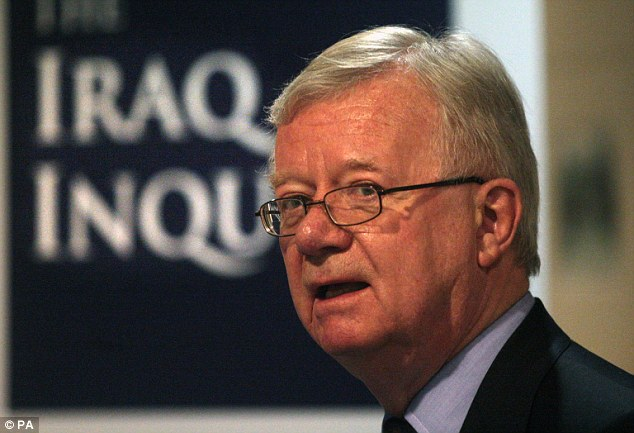 The long-awaited report by Sir John Chilcot, pictured, into the Iraq war will be published on Wednesday
