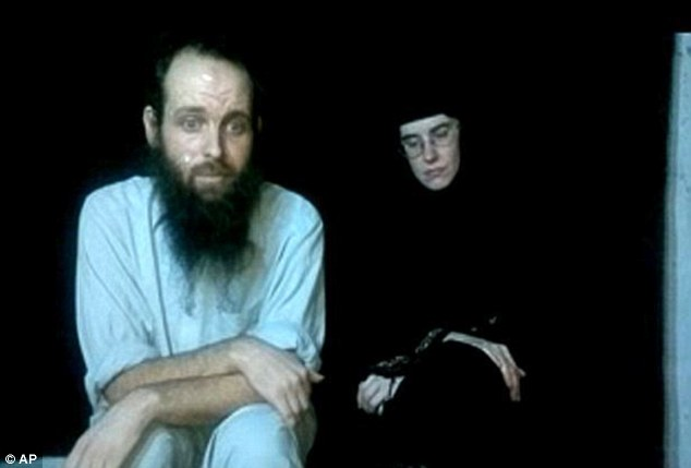 Caitlan and her husband were filmed pleading for the U.S. government to free them in a video in 2013