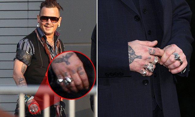 Johnny Depp tweaks Amber Heard nickname tattoo as their