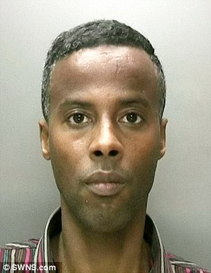 Repeat offender: Convicted Somalian rapist Dahir Ibrahim, 31,was allowed to stay in Britain after overturning a deportation order only to brutally rape two more 'vulnerable' women, it has been revealed
