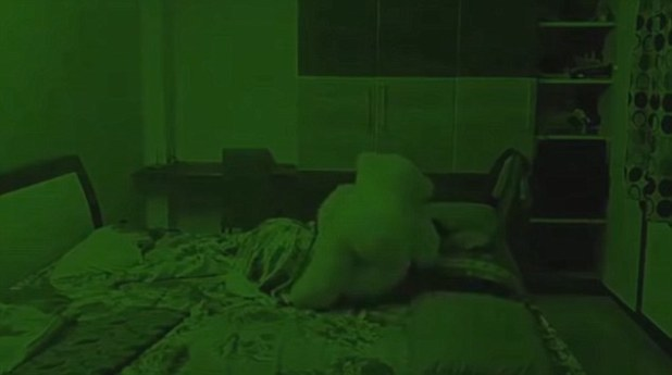 haunted teddy bear