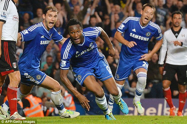 John Mikel Obi arrived at Chelsea in 2006 and is still a part of the first-team squad at the Premier League side