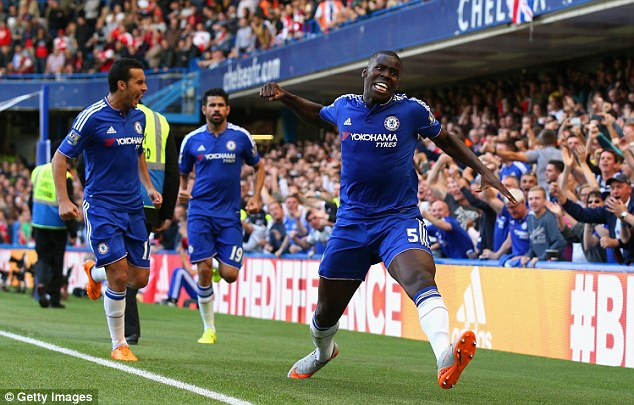 France internationalKurt Zouma joined Chelsea for £12million from St Etienne and debuted in 2014
