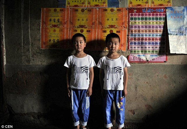 Two's a crowd: The local primary school has a set of twins in almost every class