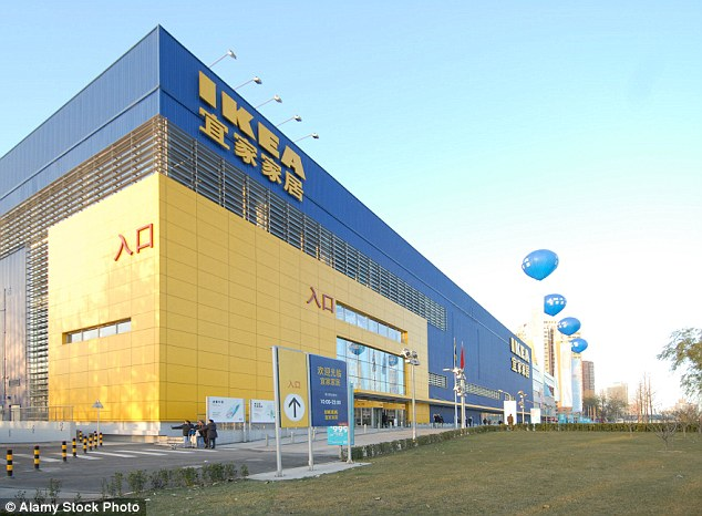 The Swedish company denied the claim through a statement on June 30. Pictured is an IKEA store in Beijing