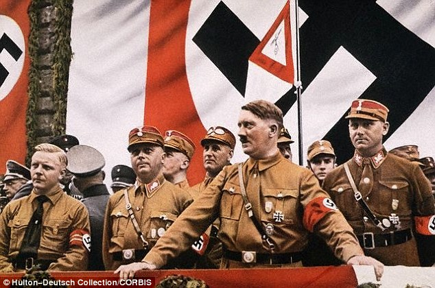 The Nazis, led by Hitler, were going to pretend that they were taking Pius in order to protect the Pope