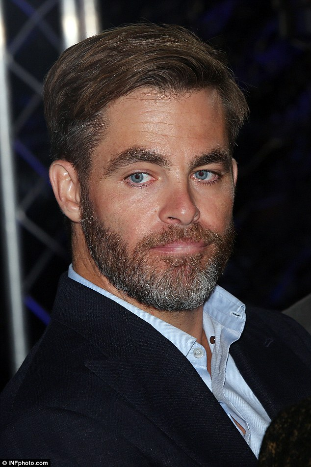 Chris Pine Rocked A Grey Beard At The Sydney Premiere Of