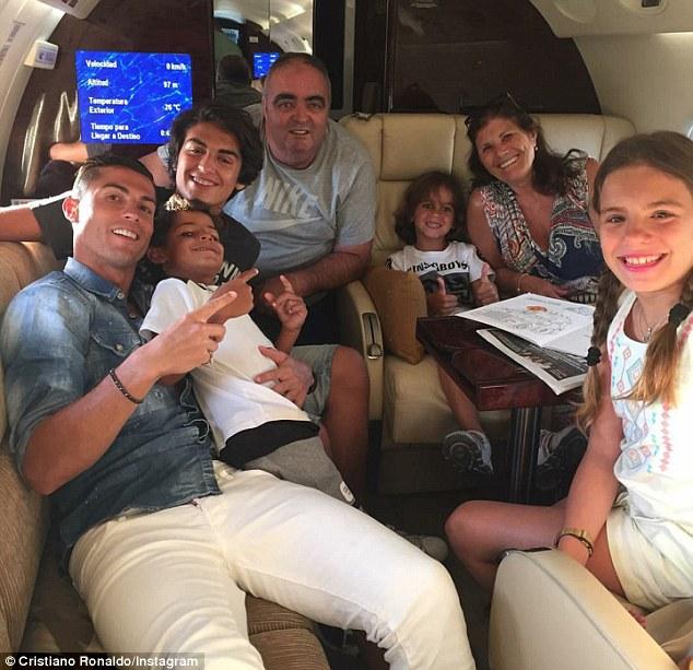Image result for cristiano ronaldo family