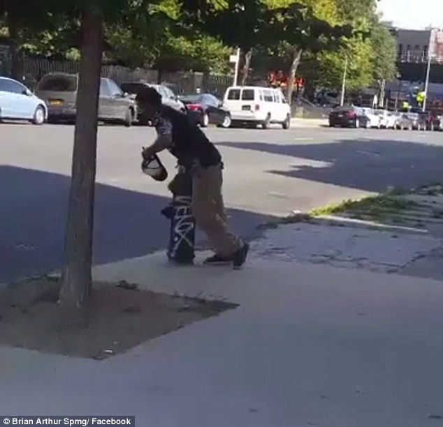 Another man was so out of it he leaned onto a fire hydrant for support. One resident said most of the addicts in the neighborhood were teenage men