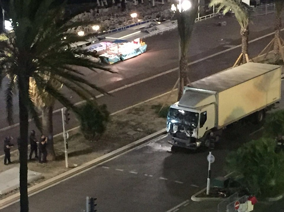 At least 60 people were killed in the southern French town of Nice when a truck ran into a crowd