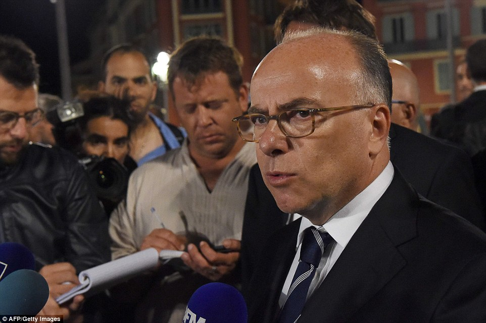 French Interior minister Bernard Cazeneuve spoke to reporters early this morning as the death toll continued to rise