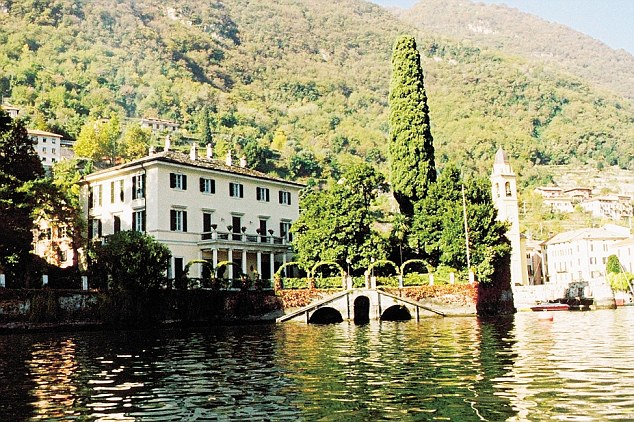 George Clooney's mansion home on Lake Como. This week, on Tuesday alone, 1,000 people were rescued off the coast by Italian coastguard and naval vessels, which must, under international maritime law, help any migrant vessel sailing into Italy's territorial waters