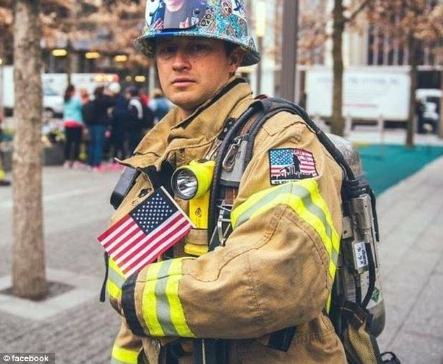 Hille (pictured) said it was 'heartbreaking' he was not allowed to show support for 'our Brothers and Sisters in Blue'