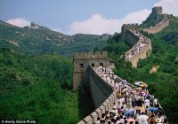 Chinese man caught on camera destroying Great Wall of ...