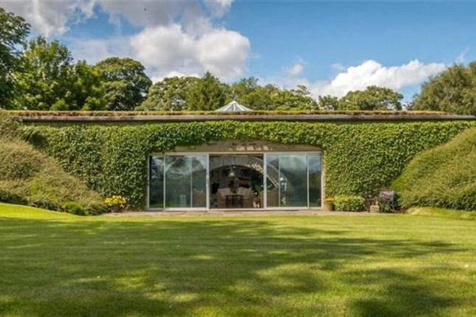 Holme Valley house built into the side of a hill on sale