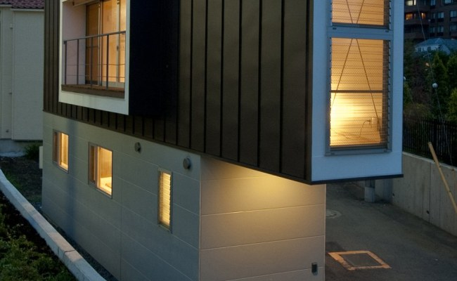 This Triangular House In Suginami Tokyo Is No Wider Than