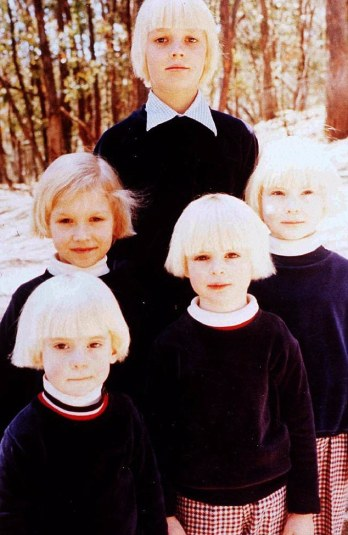 Melbourne cult 'The Family' was started in the mid 1960s by yoga teacher Anne Hamilton-Byrne and is well-known for the haunting similarities forced on the children to make them look like siblings