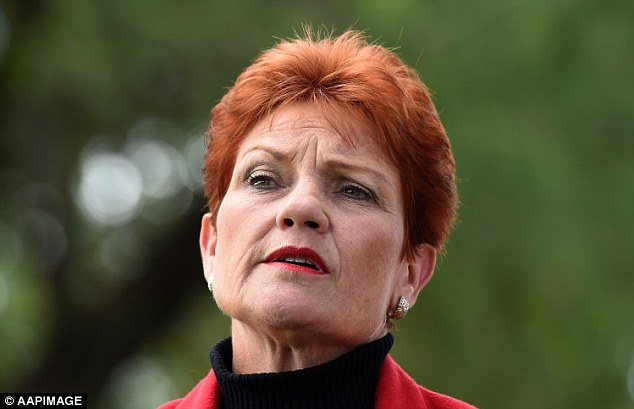 Pauline Hanson (pictured), who's Senate seat is expected to be confirmed, says people jailed for terror-related crimes should be kicked out of the country upon their release